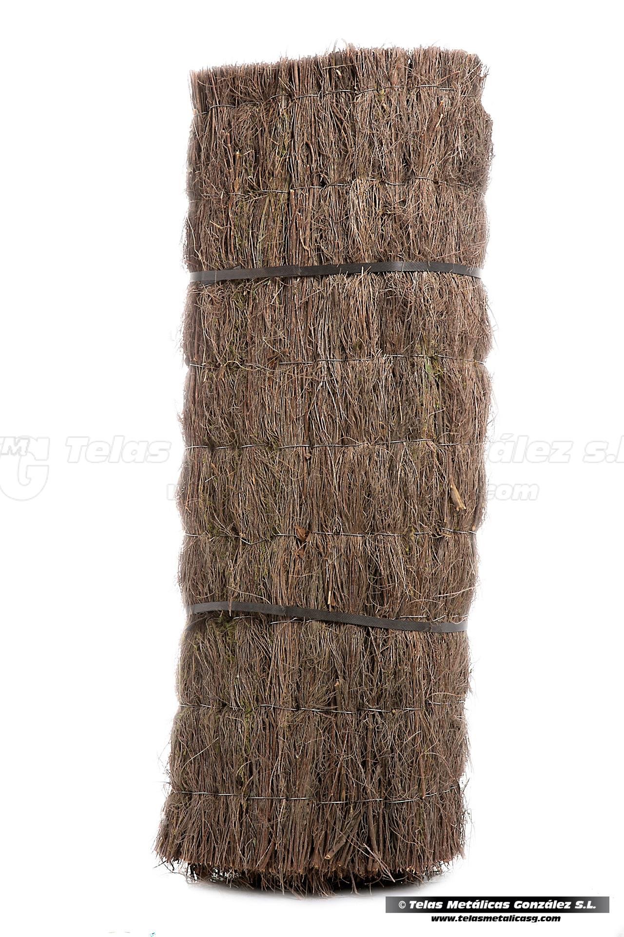 Telas met licas gonz lez brezo artificial 100 ocultaci n - Malla ocultacion total ...