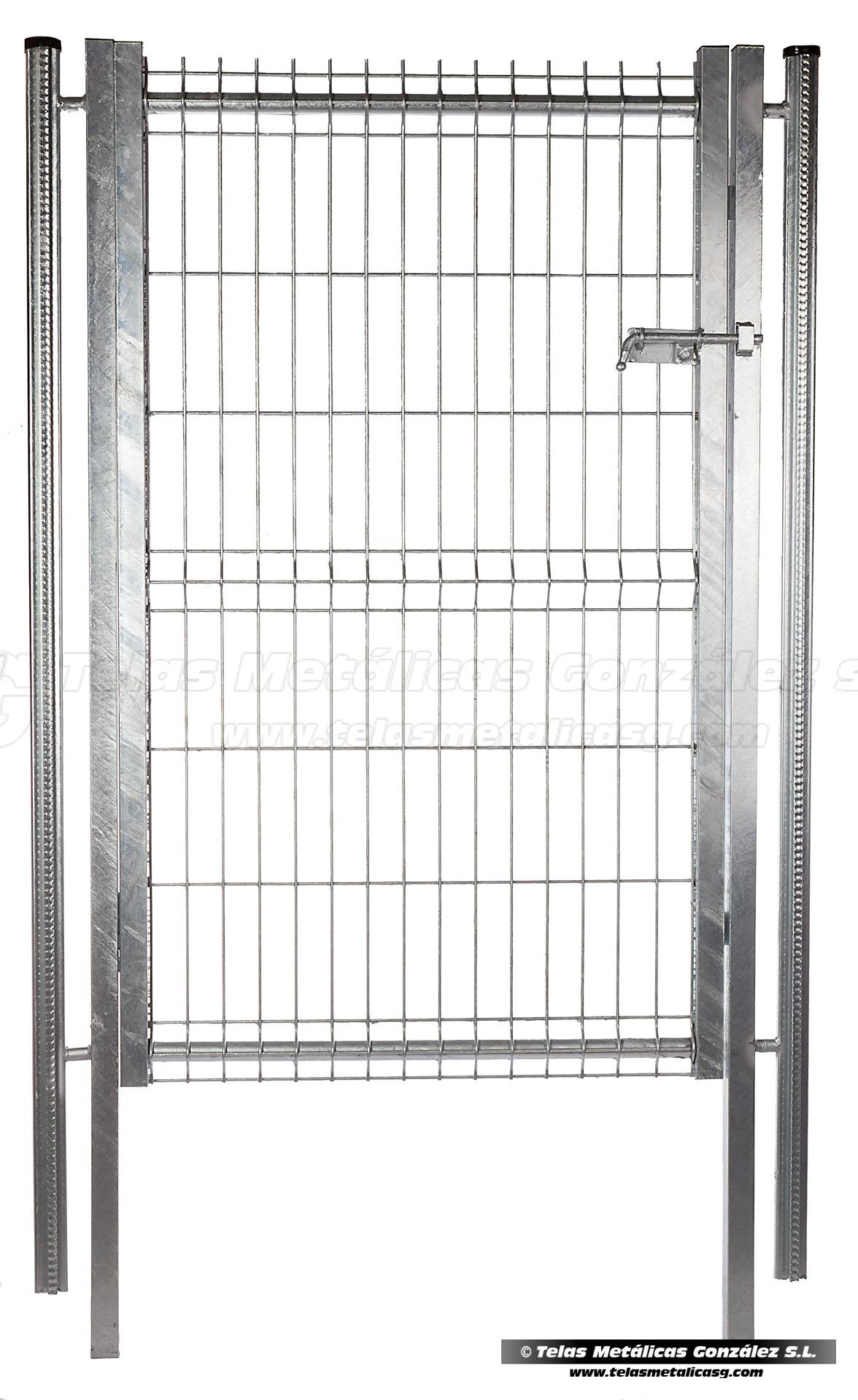 Telas met licas gonz lez cercados for Puertas para cercados