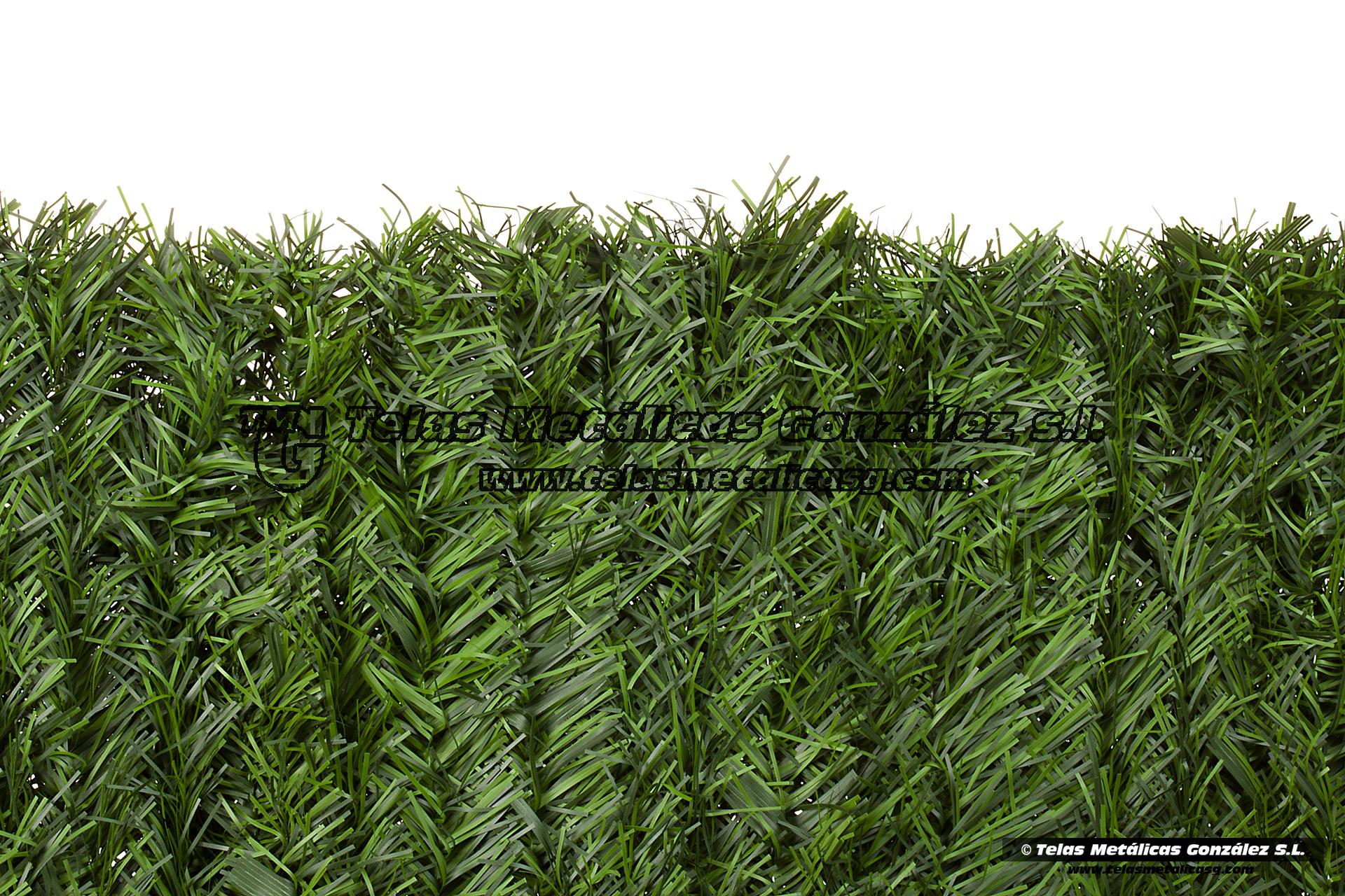 Telas met licas gonz lez seto artificial setoplast bicolor for Seto redondo artificial